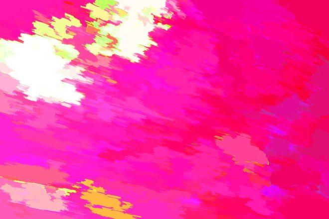 Trisha Owens, Pink Tree. Print.