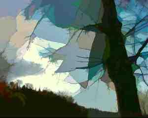 Trisha Owens, Winter Sky. Print.