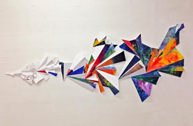 Samantha Rigler 'Crescendo' 150 x 300cm
