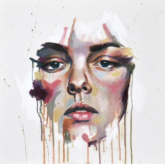 Checka Levi Morenos- Pastel - SelfPortrait
