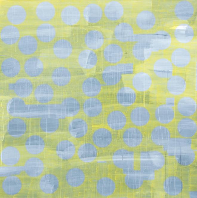 Jinyong Park_Yellow_acrylic on paper_140x140cm_2014