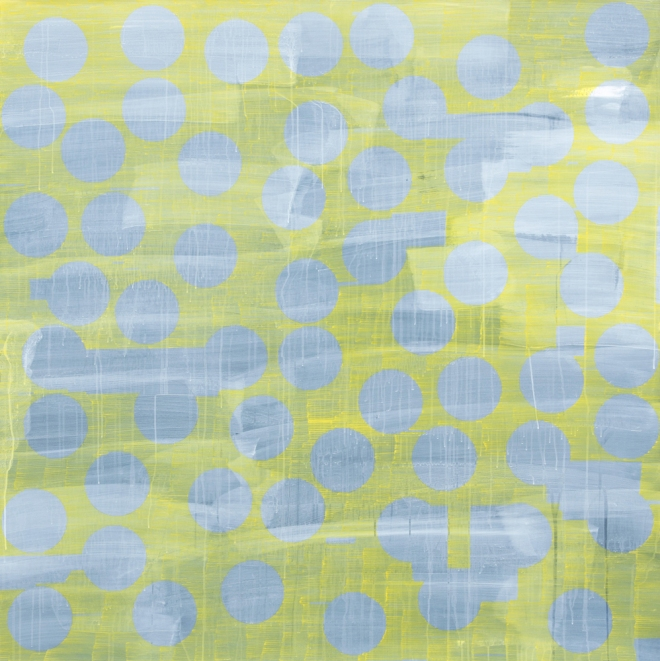 Jinyong Park_Yellow_acrylic on paper_140x140cm_2014